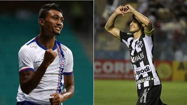Final terá confronto de artilheiros, com Magno Alves (Ceará) e Kieza (Bahia)