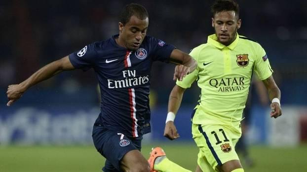 Lucas e Neymar duelarão pelas quartas da Champions League