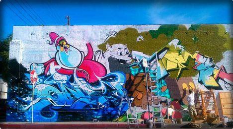 Graffiti four seasons news street art and graffiti for 4 seasons mural