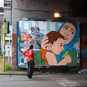 Hijab street art