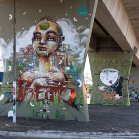 Anjo and Graphis in Sao Paulo