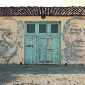 Vhils in Azores Islands