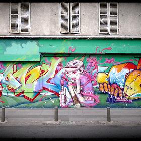 Kongo, Binho and Seth in Paris