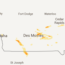 Hail Map for des-moines-ia 2013-08-06