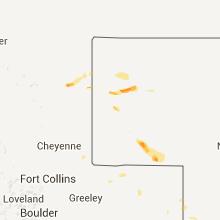 Hail Map for scottsbluff-ne 2013-08-06