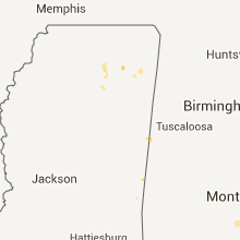 Hail Map for starkville-ms 2013-08-06