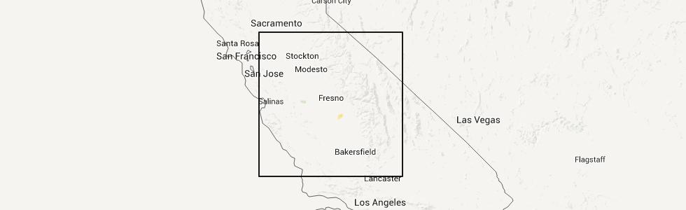 Interactive Hail Maps Hail Map for Hanford CA