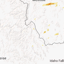 Regional Hail Map for Salmon, ID - Wednesday, July 17, 2013
