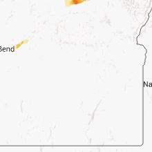 Regional Hail Map for Burns, OR - Friday, August 16, 2013