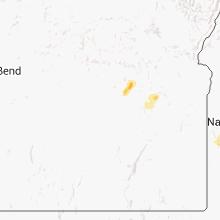 Regional Hail Map for Burns, OR - Wednesday, September 4, 2013
