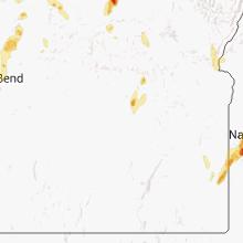 Regional Hail Map for Burns, OR - Thursday, September 5, 2013