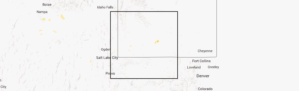 Rock Springs Wyoming Map.Hail Map For Rock Springs Wy Thursday September 12 2013