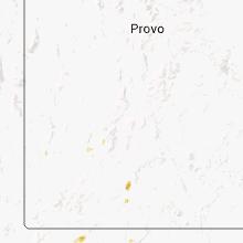 Regional Hail Map for Monroe, UT - Sunday, September 21, 2014