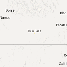 Regional Hail Map for Twin Falls, ID - Friday, July 10, 2015