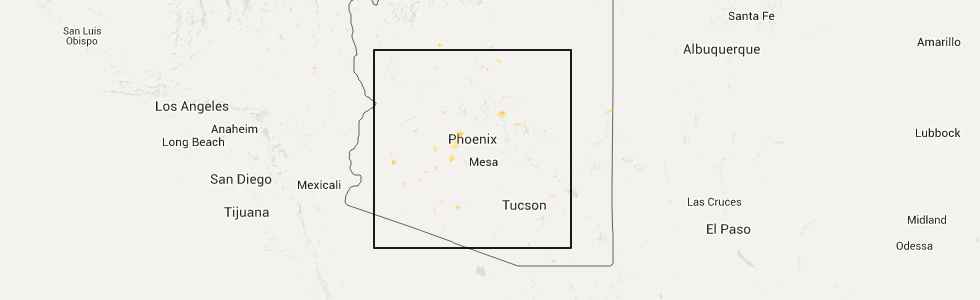 Interactive hail maps hail map for sun city west az the top recent hail date for sun city west az is thursday august 27 2015 2nd out of 2 publicscrutiny Gallery