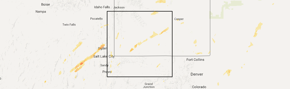 Rock Springs Wyoming Map.Interactive Hail Maps Hail Map For Rock Springs Wy