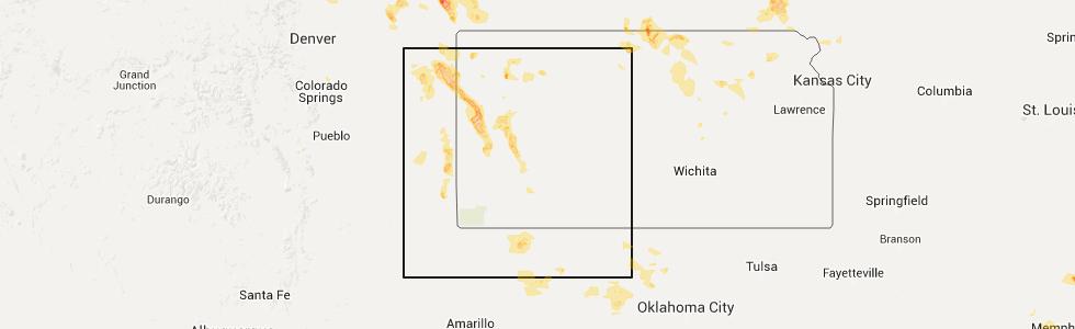 Interactive Hail Maps Hail Map For Copeland Ks