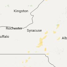 Regional Hail Map for Syracuse, NY - Tuesday, June 28, 2016