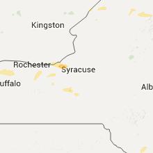 Regional Hail Map for Syracuse, NY - Monday, July 18, 2016