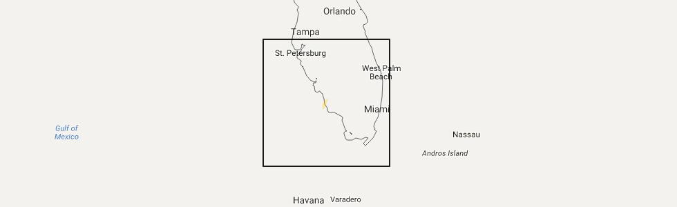 Map Naples Florida.Hail Map For Naples Fl Monday August 1 2016