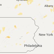 Regional Hail Map for Scranton, PA - Saturday, August 13, 2016