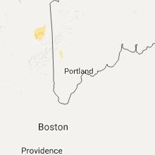 Regional Hail Map for Portland, ME - Sunday, September 11, 2016