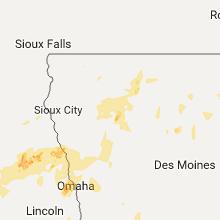 Regional Hail Map for Storm Lake, IA - Thursday, September 15, 2016