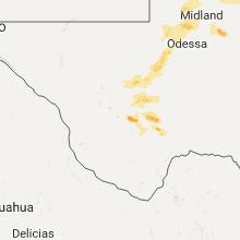 Regional Hail Map for Alpine, TX - Friday, September 16, 2016