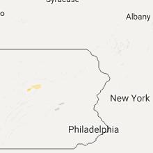 Regional Hail Map for Scranton, PA - Sunday, September 18, 2016