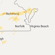 Regional Hail Map for Virginia Beach, VA - Wednesday, September 28, 2016