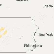 Regional Hail Map for Scranton, PA - Thursday, October 20, 2016