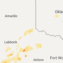 Regional Hail Map for Childress, TX - Wednesday, November 2, 2016