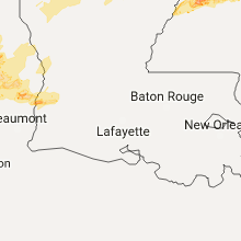 Hail Map for lafayette-la 2017-04-26