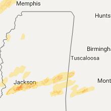 Hail Map for starkville-ms 2017-04-26