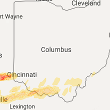 Hail Map for columbus-oh 2017-04-28