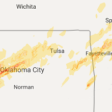 Hail Map for tulsa-ok 2017-04-28