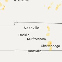 Hail Map for nashville-tn 2017-04-29