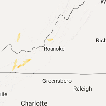 Hail Map for roanoke-va 2017-04-29
