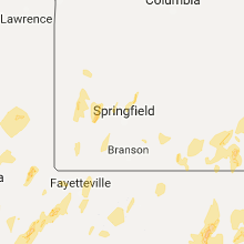 Hail Map for springfield-mo 2017-04-29