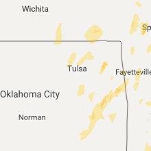 Hail Map for tulsa-ok 2017-04-29