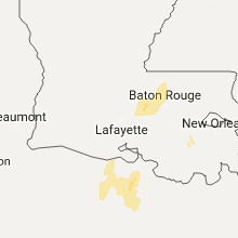 Hail Map for lafayette-la 2017-04-30