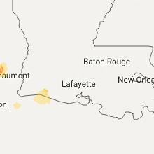 Hail Map for lafayette-la 2017-05-02