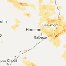 Hail Map for houston-tx 2017-05-03