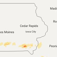 Hail Map for cedar-rapids-ia 2017-05-10