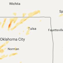 Hail Map for tulsa-ok 2017-05-10