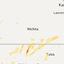 Hail Map for wichita-ks 2017-05-10