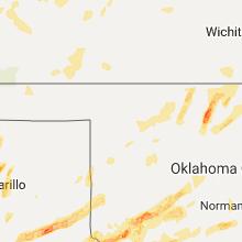 Hail Map for woodward-ok 2017-05-10