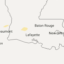 Hail Map for lafayette-la 2017-05-11