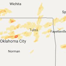 Hail Map for tulsa-ok 2017-05-11
