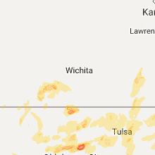 Hail Map for wichita-ks 2017-05-11